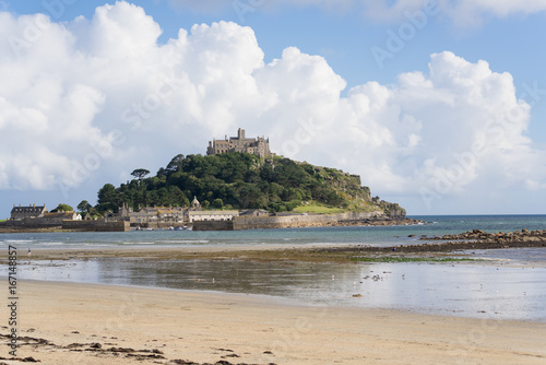 Foto op Plexiglas Tropical strand Coastline in Cornwall in the summer