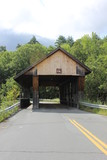 Packard Hill Covered Bridge in Lebanon, NH