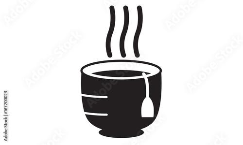 Tea flat style