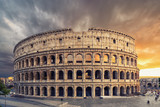 The Colosseum or Flavian Amphitheatre (Amphitheatrum Flavium or Colosseo)