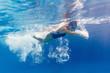 Swimmer in motion - 167213676