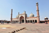 Delhi sightseeing in India, beautiful and very old architecture, indian tourism, big city.