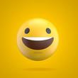 Emoji emoticon character face 3D Rendering - 167220079