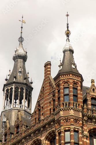 Amsterdam, altes Hauptpostamt