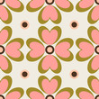 Seamless vector pattern with stylized flowers. - 167246055