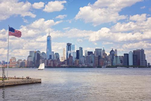 Foto op Aluminium New York NYC Skyline