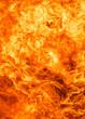 Quadro blaze fire flame texture background
