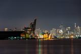 San Francisco Shipyard at Night