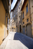 A picturesque and typical street of Florence