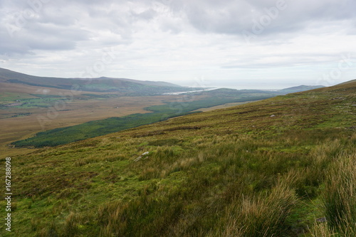 Foto op Canvas Wit Mountain landscape, Wild Atlantic Way, Ireland