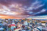 Kioto, Japonia Skyline nad obszarami mieszkaniowymi.