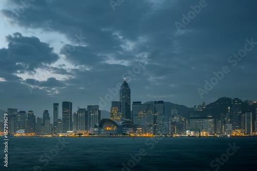 Poster Hong Kong Harbor View