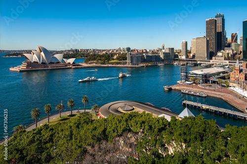 Papiers peints Sydney Sydney Harbour Ferry departing from Circular Quay