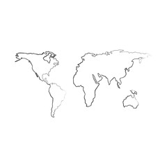 earth maps isolated icon vector illustration design