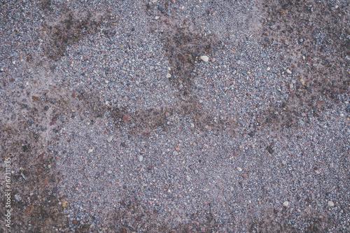 Textura de grava gris triturada