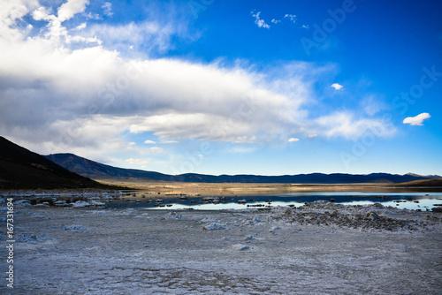 Fotobehang Le lac Mono