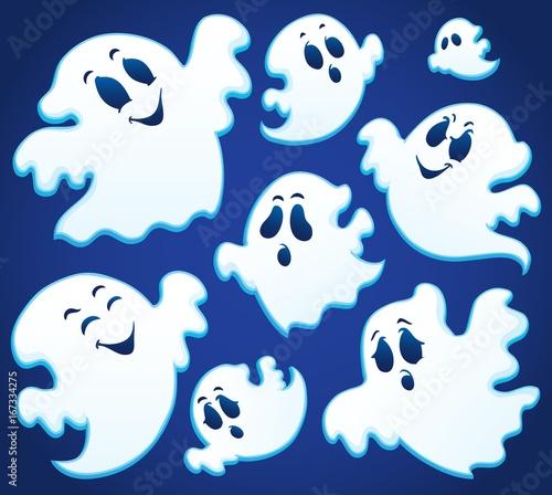 Tuinposter Voor kinderen Ghost thematics image 1