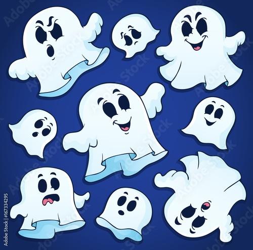 Tuinposter Voor kinderen Ghost thematics image 2