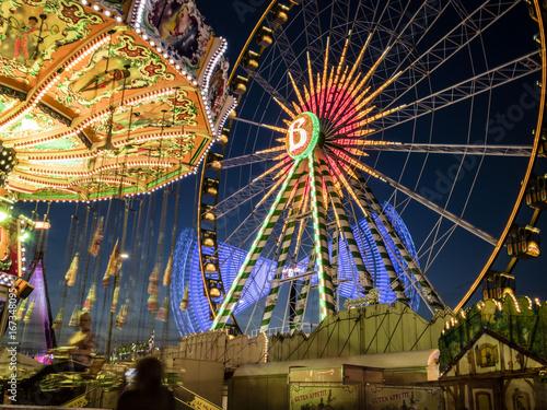 Keuken foto achterwand Amusementspark Cranger Kirmes