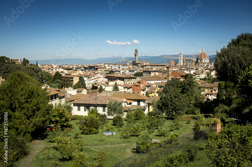 Foto op Canvas Florence Italian view