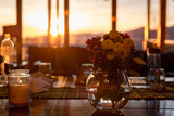 Sunset Table Top Flowers - 167352281