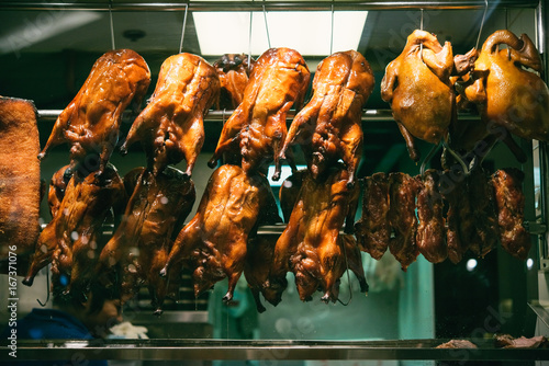 Foto op Canvas Peking Roasted duck