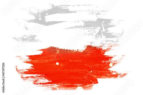 Fototapeta Flag of Poland