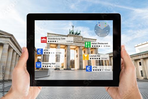 Deurstickers Berlijn Brandenburger Tor In Berlin