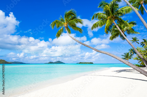 Sommer, Sand und Strand auf einer tropischen Insel
