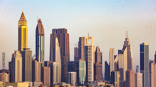 Wall mural Dubai Skyline, UAE
