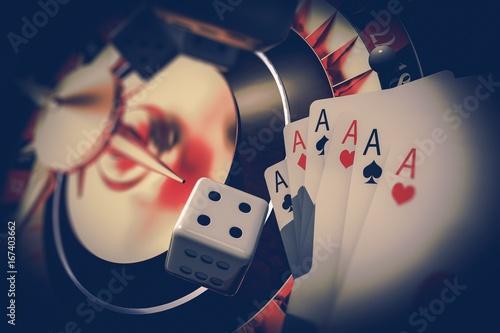 Vegas Gambler Concept