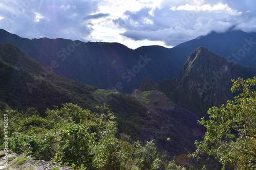 Staande foto Nachtblauw Peru