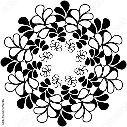 Abstract image,ornament,floral motif,tapestry - 167422415