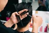 Proces cięcia włosów