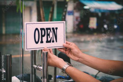 Opening barbershop