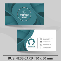 Creative business card template.
