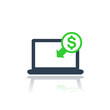 internet banking, payments icon