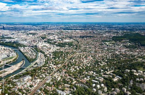 Région parisienne vue du ciel 02