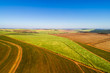 Quadro Aerial View of Rural Area in Brazil