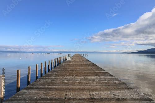 Foto op Aluminium Pier Lake Tahoe Dock of the Bay