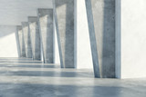 Concrete interior - 167504018