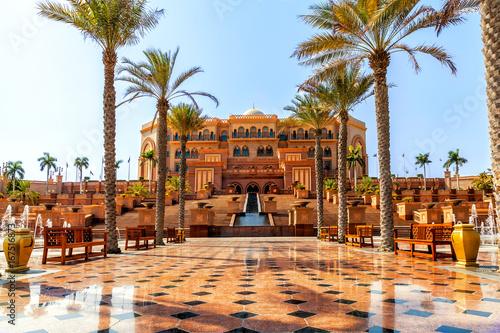 Tuinposter Abu Dhabi Emirates Palace