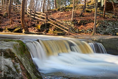 Water Fall in Ohio Park - 167520459