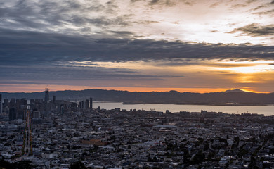 The Bay Area at Sunrise