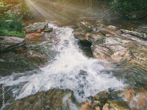 Huay Mae Kamin Waterfall , Srinakarin Dam National Park , Kanchanaburi , Thailand - 167536852