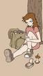 cartoon draw - 167541058