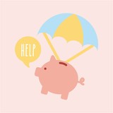 Help donations children icon vector illustration design graphic