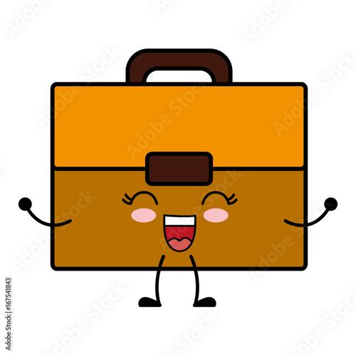 kawaii briefcase icon - 167541843
