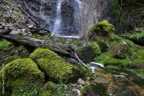 Wasserfall mit Moos 6 - 167552438
