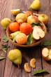 Quadro pear,apple and orange